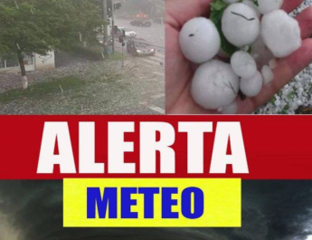 Alerta ANM: Furtuni puternice si fenomene meteo extreme. Vremea pentru luni, marti, miercuri si joi